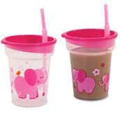 Pink Elephants Tumbler