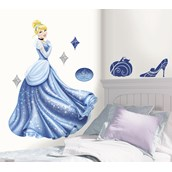 Disney Cinderella Giant Peel and Stick Wall Decals