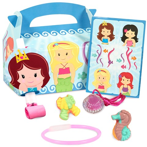 Mermaids Party Favor Box