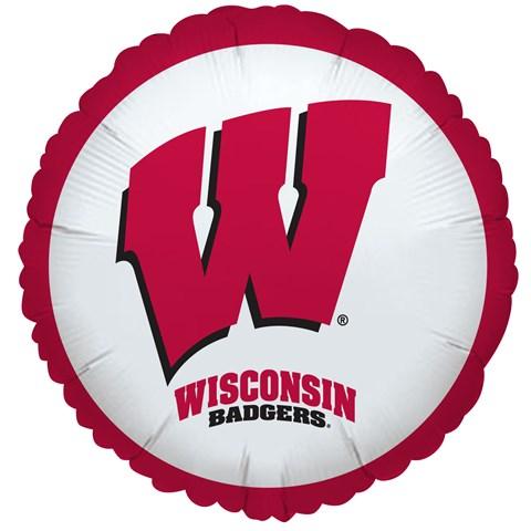 Wisconsin Badgers Foil Balloon