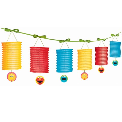 Sesame Street 1st Birthday - Paper Lantern Garland