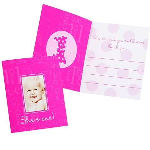 Everything One Girl Photo Thank-You Notes