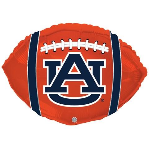 Auburn Tigers Foil Football Balloon
