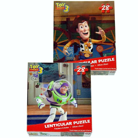 Disney Toy Story Lenticular Puzzle