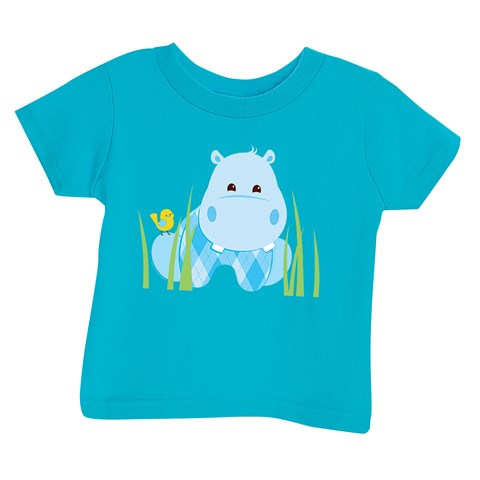 Hippo Blue T-Shirt