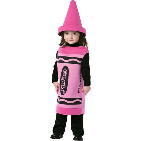 Crayola Tickle Me Pink Crayon Toddler Costume