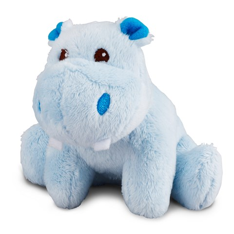 Hippo Blue Plush