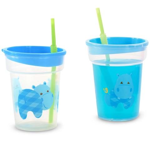 Hippo Blue Tumbler