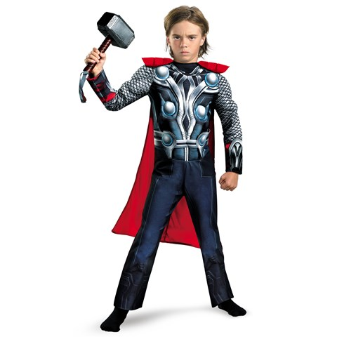 The Avenger Thor Classic Muscle Chest Toddler Costume