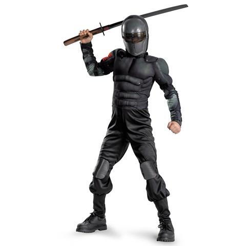 G.I. Joe Retaliation Snake Eyes Classic Muscle Chest Kids Costume