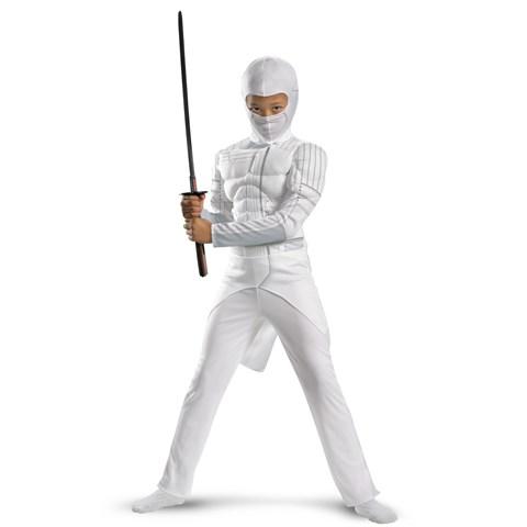 G.I. Joe Retaliation Storm Shadow Classic Muscle Chest Kids Costume