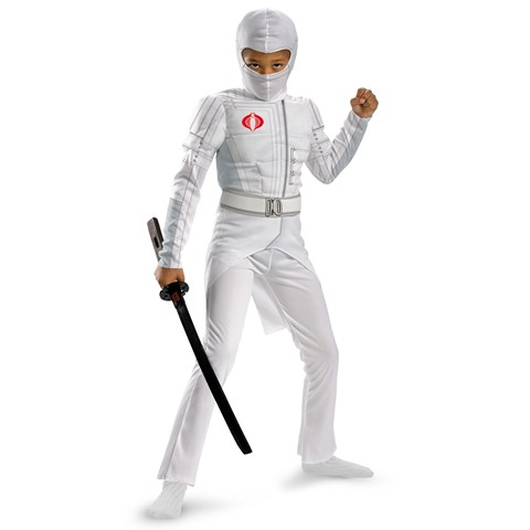 G.I. Joe Retaliation Storm Shadow Light Up Deluxe Muscle Chest Kids Costume
