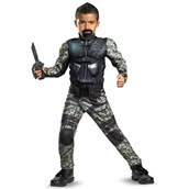 G.I. Joe Retaliation Roadblock Classic Muscle Chest Kids Costume