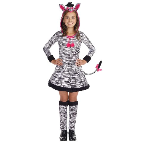Lil' Wild Thang Zebra Child Costume