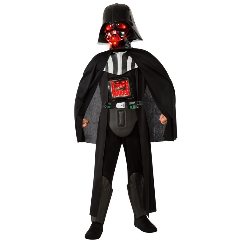 действительно новогодний костюм дарт вейдер купить ребенок очень активен