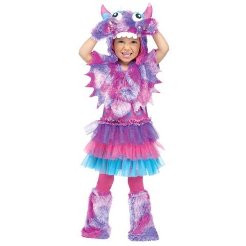 Polka Dot Monster Toddler Costume