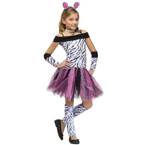 Zebra Child Costume