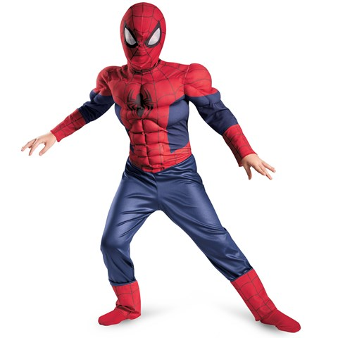 Ultimate Spider-Man Muscle Child Costume