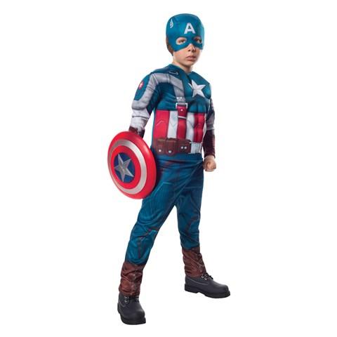 Captain America The Winter Soldier Deluxe Retro Child Costume