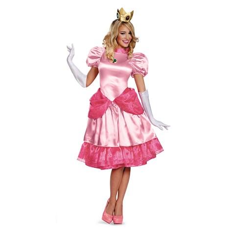 Super Mario Bros - Adult Deluxe Princess Peach Costume