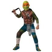 Teenage Mutant Ninja Turtle Movie - Adult Deluxe Michelangelo