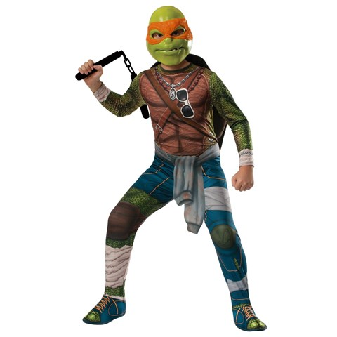 Teenage Mutant Ninja Turtle Movie - Adult Deluxe Michelangelo