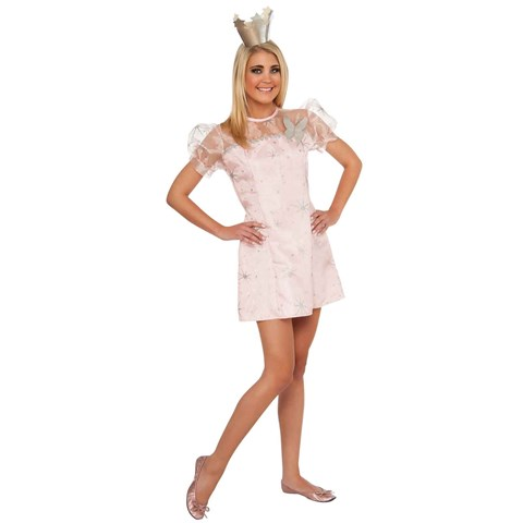Young Adult Wizard Of Oz Glinda Costume