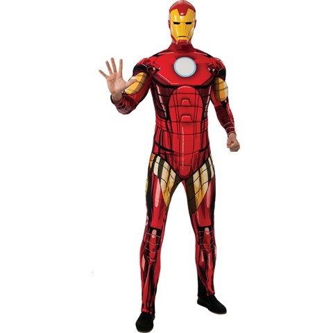 Marvel - Adult Deluxe Classic Iron Man Costume