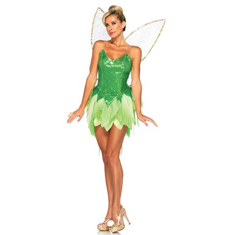 Disney Adult Pixie Dust Tinker Bell Costume