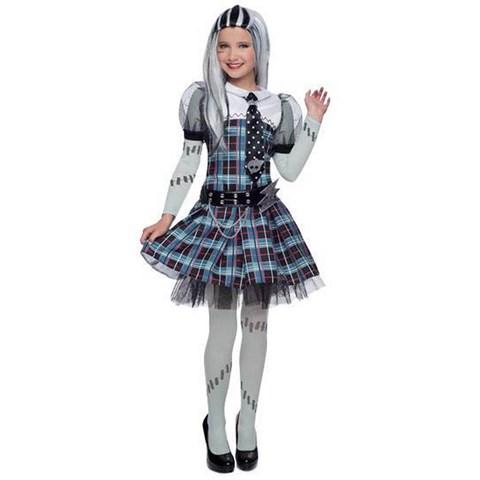Deluxe Monster High Frankie Stein Girls Costume
