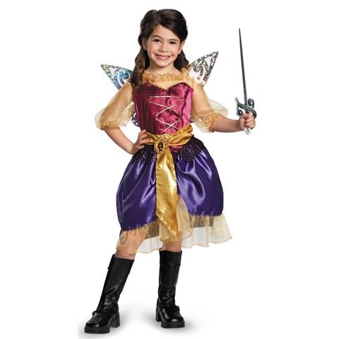 Tinker Bell and The Pirate Fairy - Pirate Zarina Girls Costume
