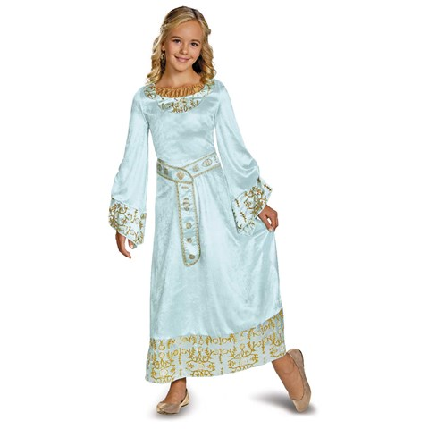 Maleficent - Aurora Deluxe Blue Dress Girls Costume