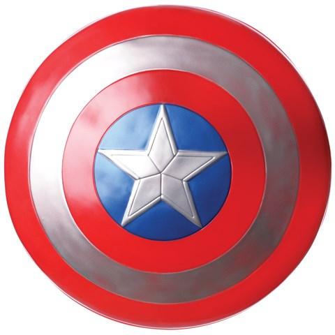 Captain America Winter Soldier - Kids Retro Captain America Shield