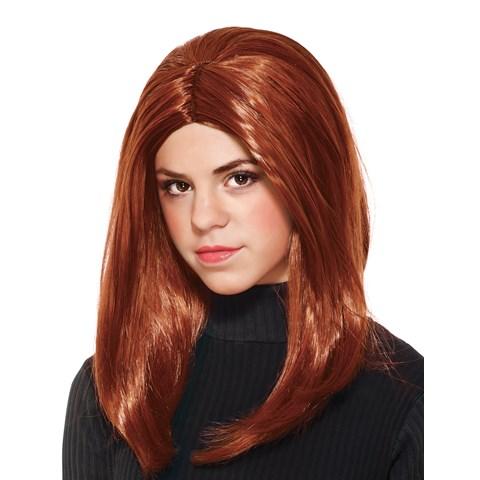 Captain America Winter Soldier - Black Widow Girls Wig