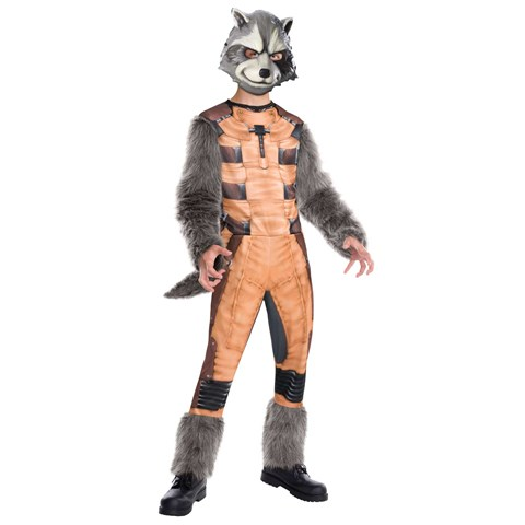 Guardians of the Galaxy - Deluxe Rocket Raccoon Child Costume
