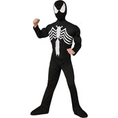Ultimate Black Spider-Man Muscle Chest Child Costume