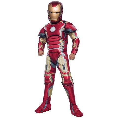 Avengers 2: Age of Ultron Deluxe Kids Iron Man Mark 43 Costume
