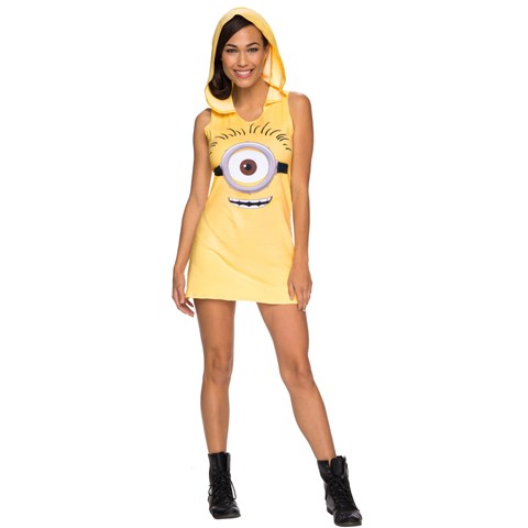 Minions Movie: Minion Tank Hooded Dress