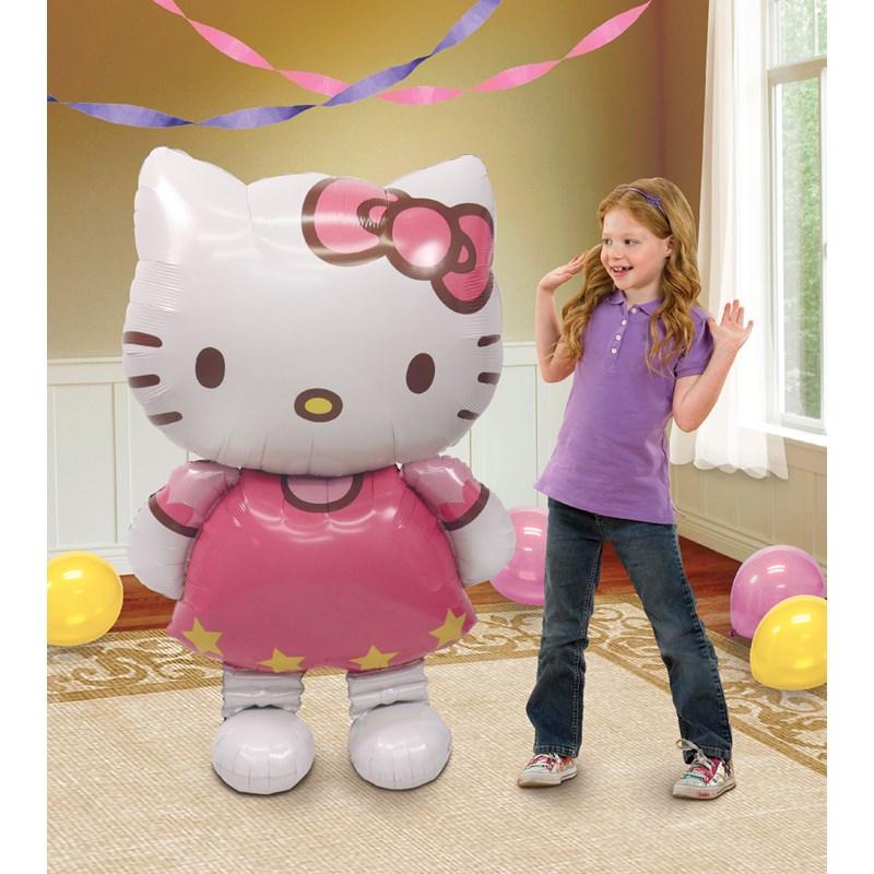 Hello Kitty Airwalker Foil Balloon