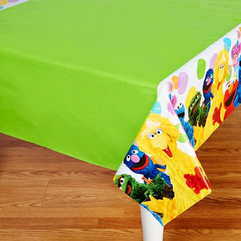 Sesame Street Party Plastic Tablecover