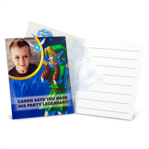 The Legend of Zelda Personalized Thank-You Notes