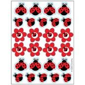 LadyBug Fancy Sticker Sheets