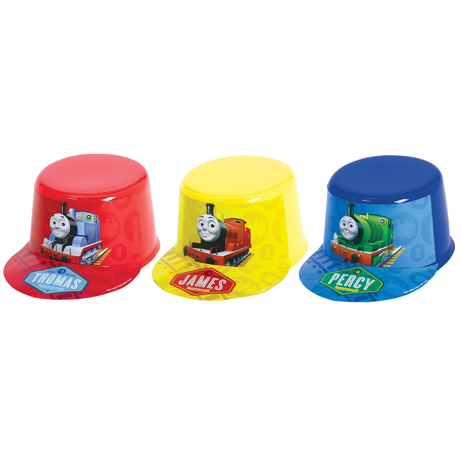 Thomas the Tank Vac Form Hat- Thomas the Train Party Games for Kids