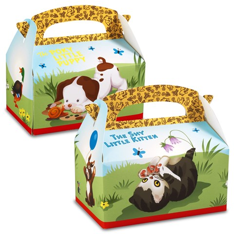 Little Golden Books Empty Favor Boxes