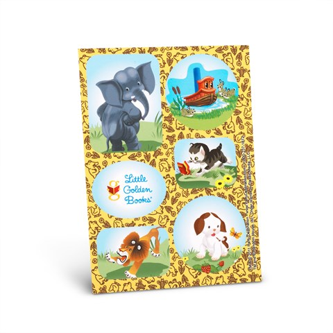 Little Golden Books Sticker Sheets