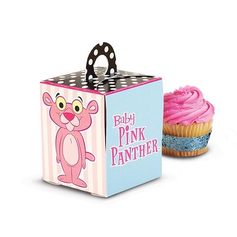 Baby Pink Panther Cupcake Boxes
