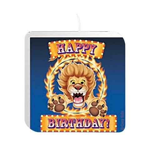 Big Top Printed Candle