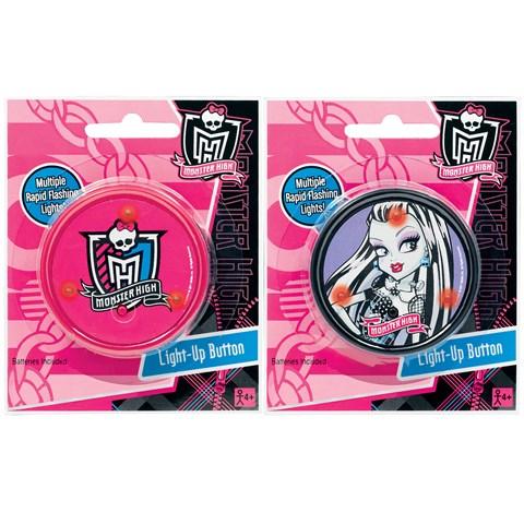 Monster High Light-Up Button