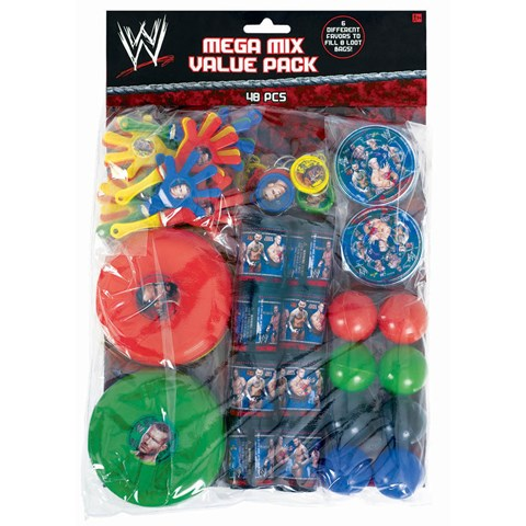 WWE Party Favor Value Pack