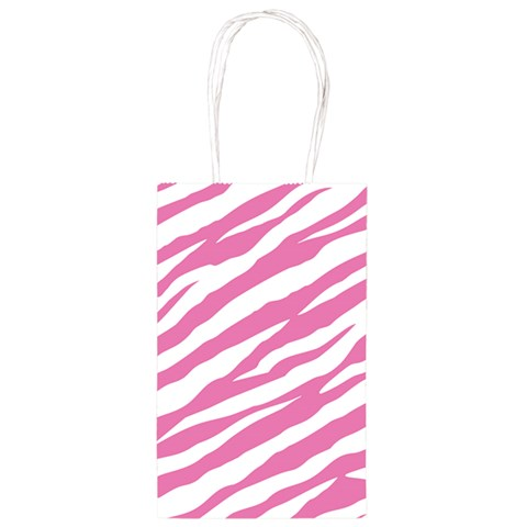 Pink Zebra Print Party Bag